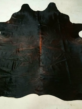 Black + Brown Cowhide 2464