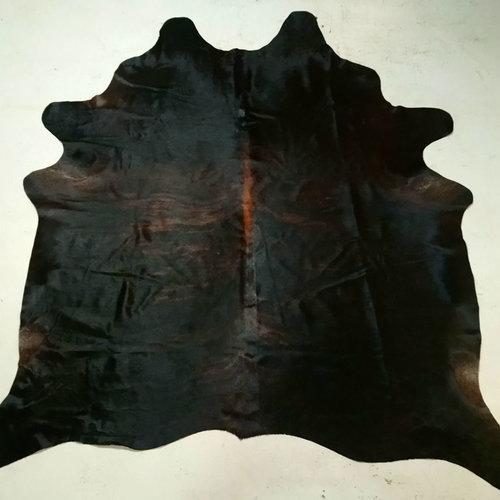 Black + Brown Cowhide 2464