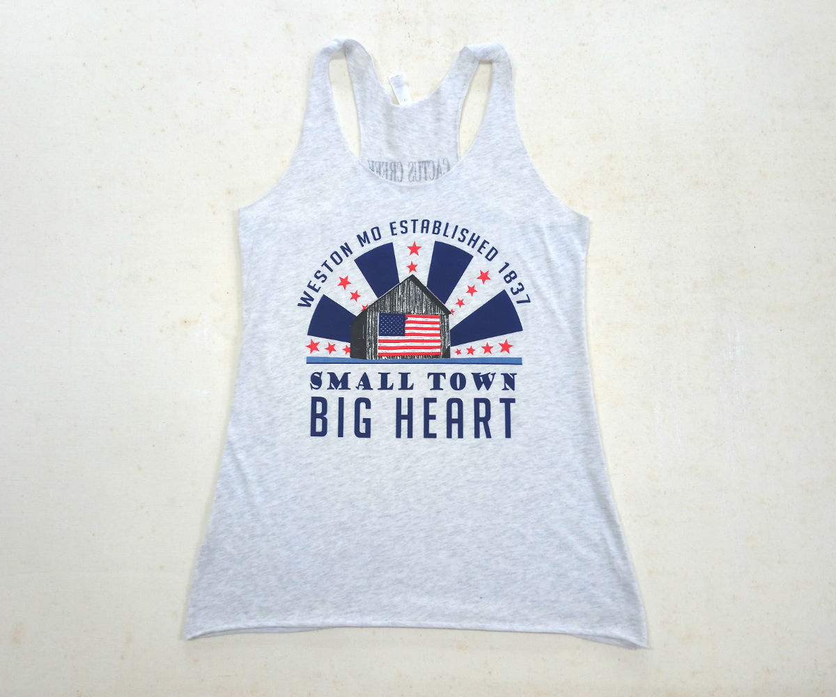 Weston Small Town Big Heart Tank