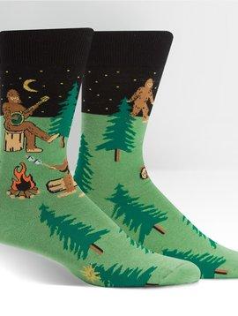 Sasquatch Camp Out Crew Socks