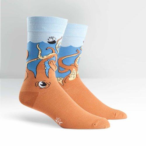 Squid-O Crew Socks