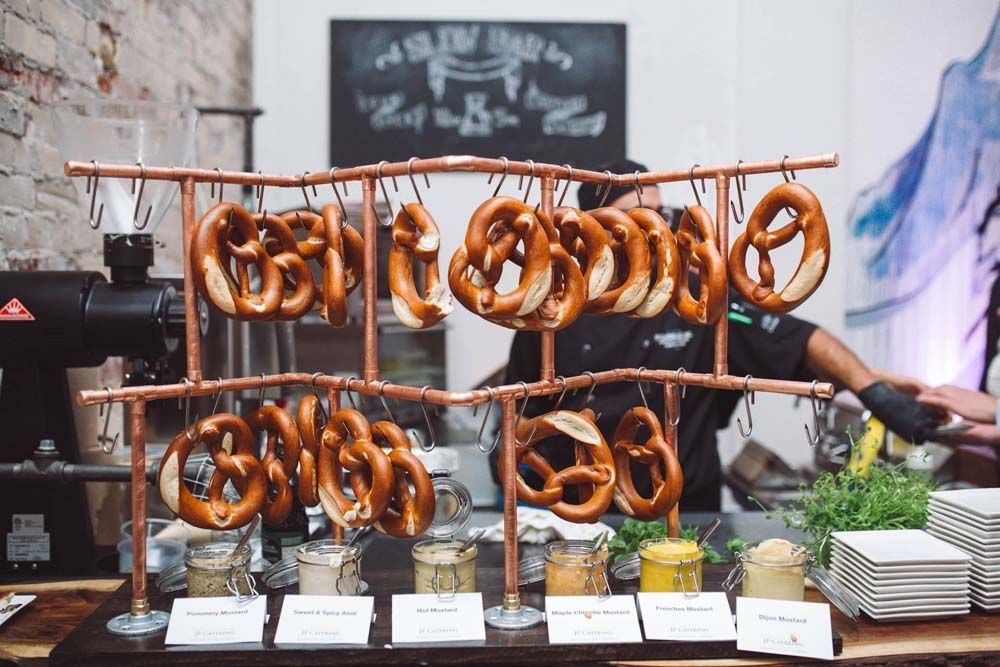 Pretzel Bar Ideas