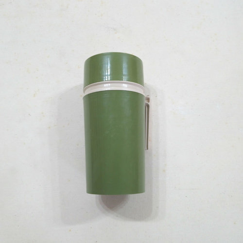 Vintage Olive Green Thermos