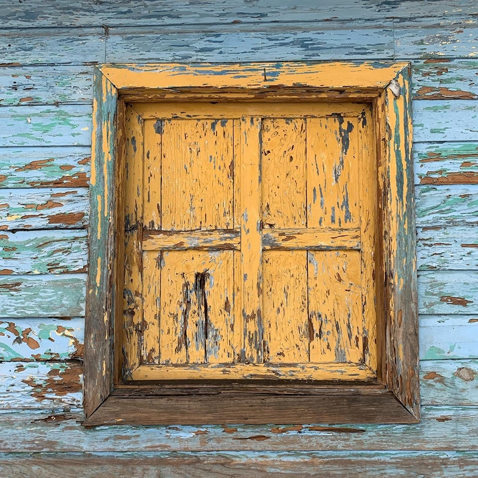 Patina Window San Lucas Guatemala