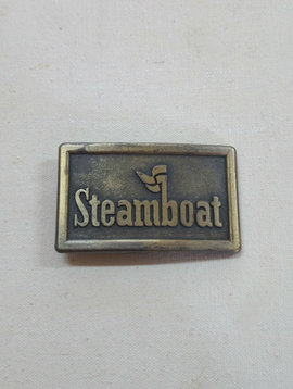Vintage Steamboat Buckle