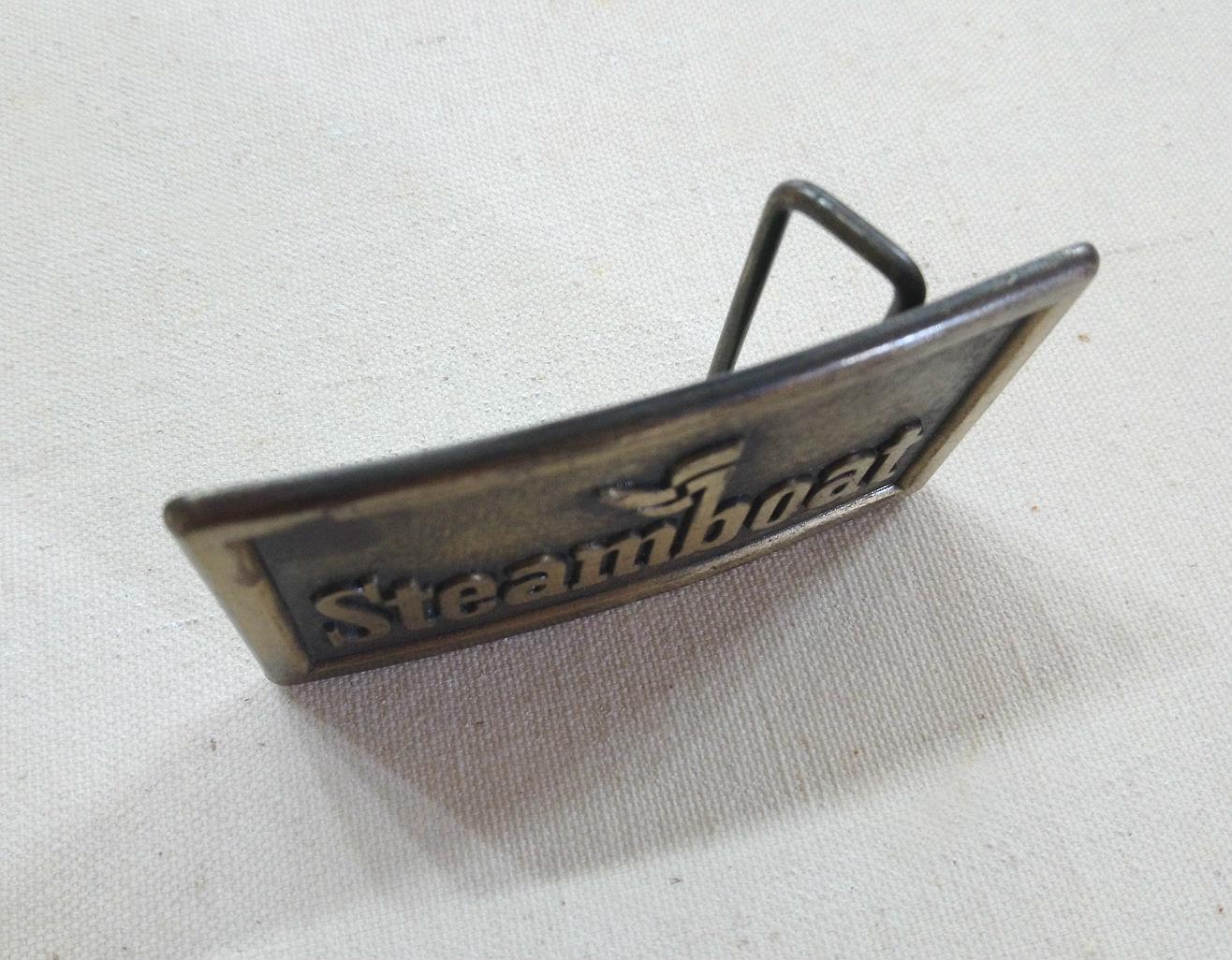 Vintage Steamboat Buckle