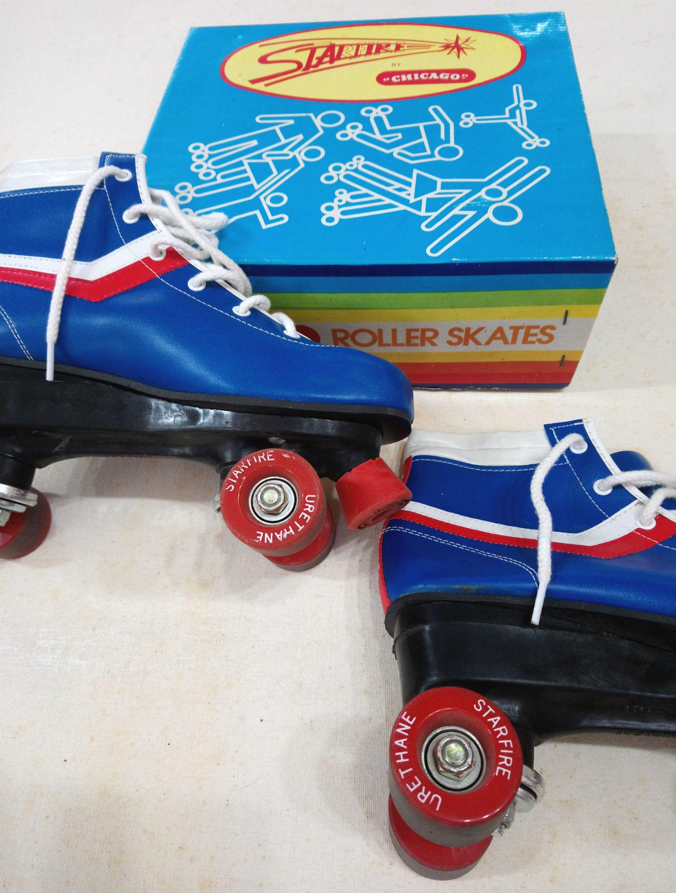 Vintage Starfire Chicago Roller Skates