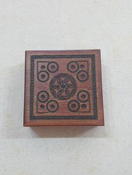 Kiev Sunflower Engraved Trinket Box