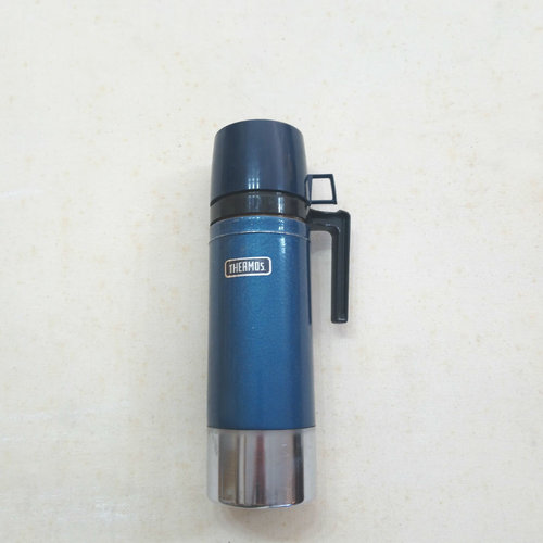 Vintage Quart King Seeley Blue Thermos
