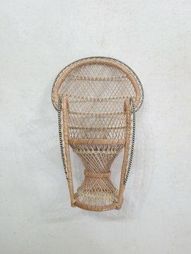 Mini Wicker Boho Chair