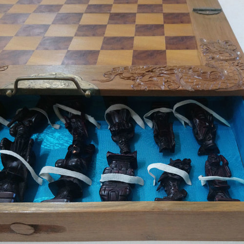 Carved Chess Set