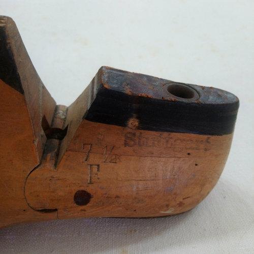 Vintage Adult Wood Shoe Mold