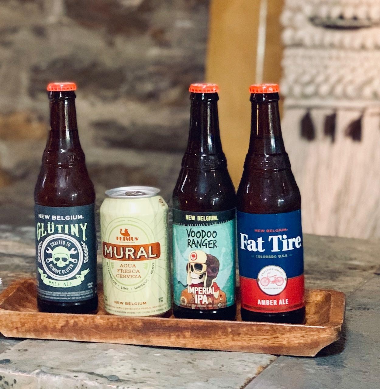 New Belgium Beer Tasting