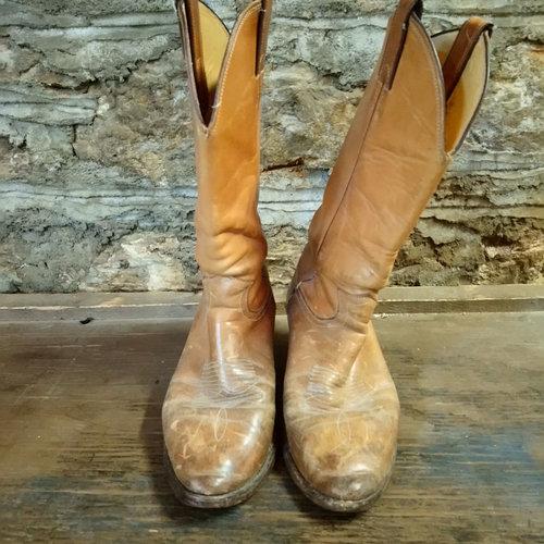 Size 7.5 Vintage Justin Boots Men's