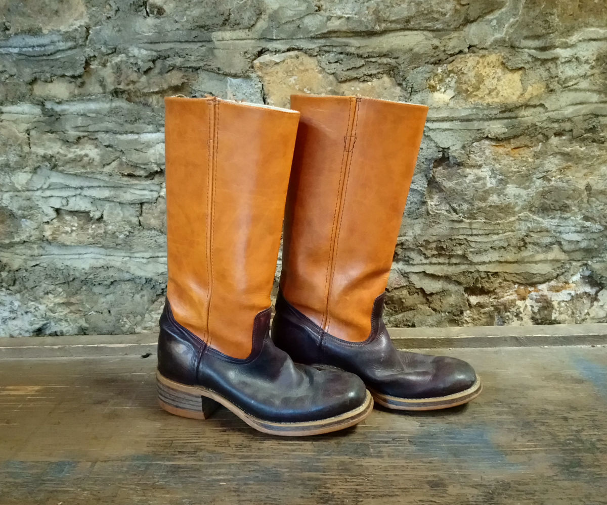 Size 9 Texas Star Two Tone Boot