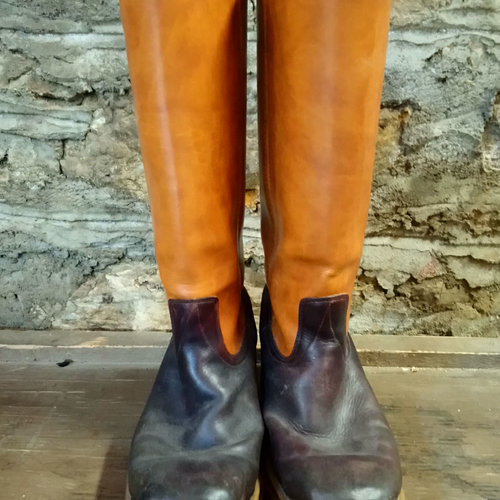 Cactus Creek Size 9 Texas Star Two Tone Boot