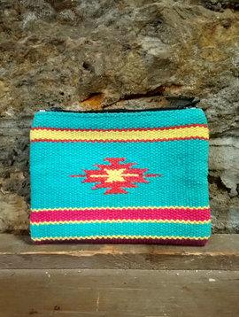 Karma Living Aztec Zipper Pouch