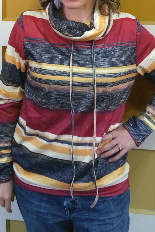 Autumn Stripe Pullover