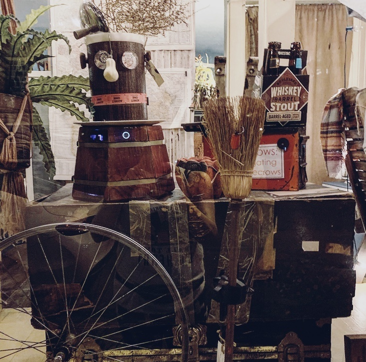 DIY Scarecrows for fall decorating