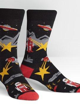 Zap Zap Crew Socks