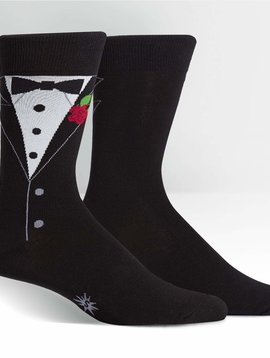 Black Tie Affair Crew Socks