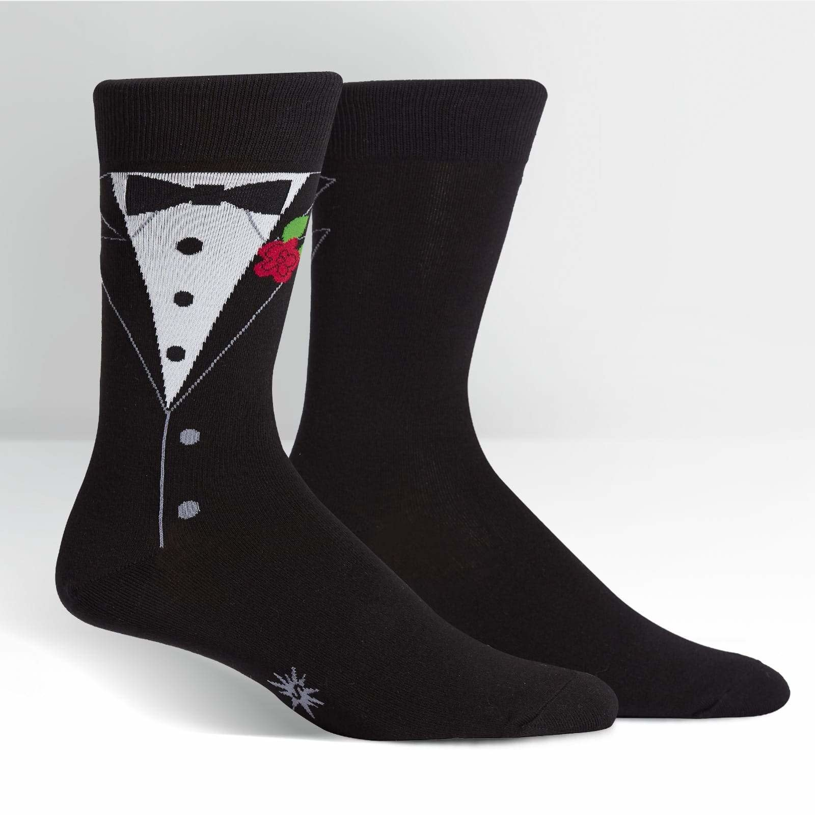 Black Tie Affair Crew Socks