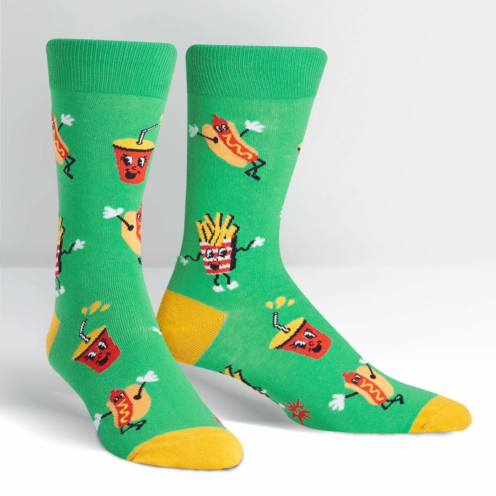 Intermission Crew Socks