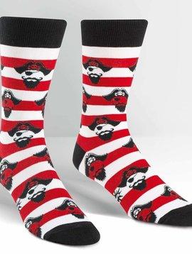 Argh Ye Stripey Crew Socks