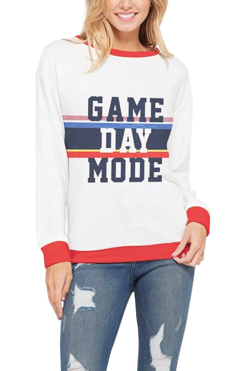 Game Day Mode Long Sleeve Top