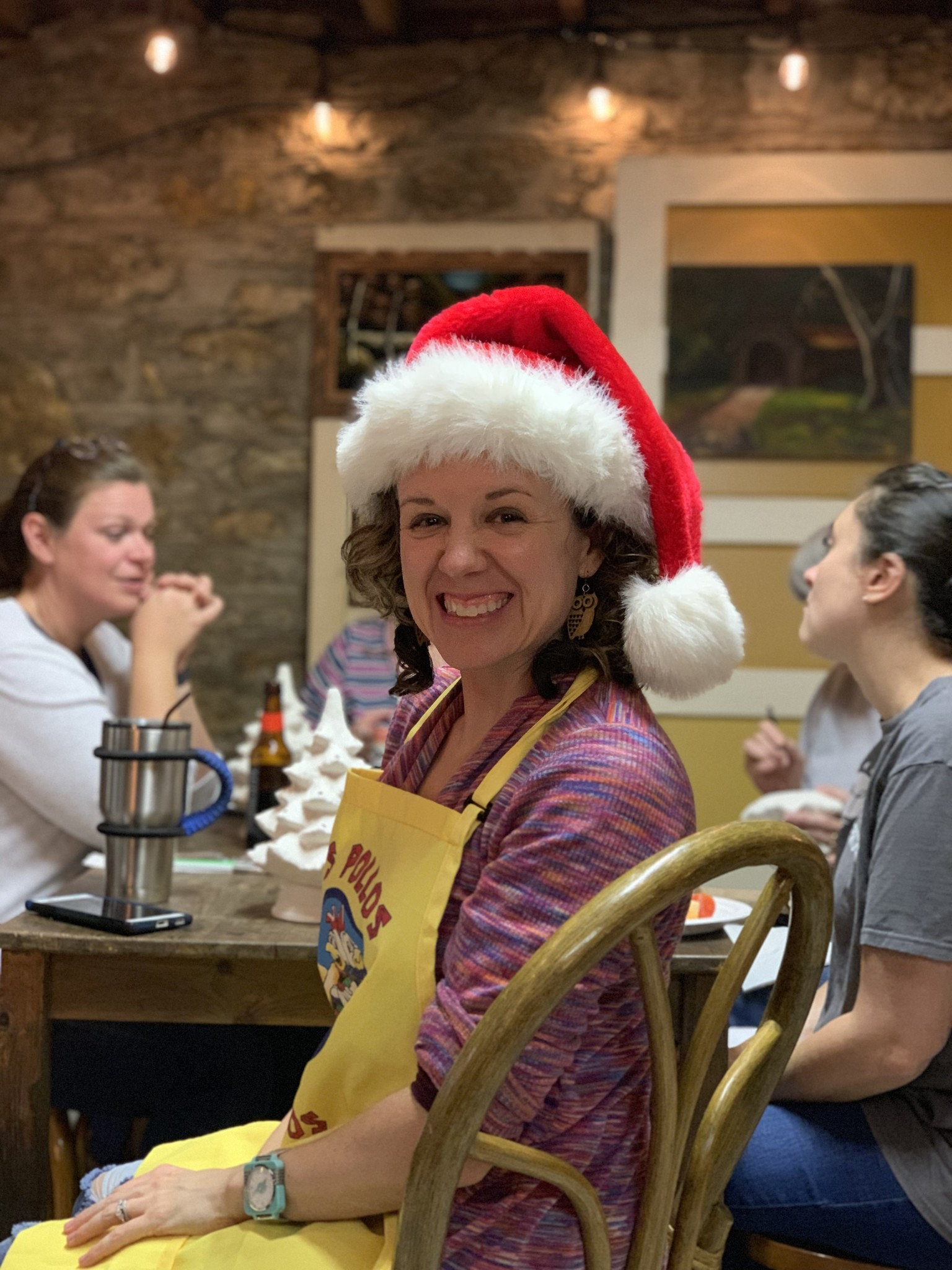 Ceramic Christmas Tree Painting Party