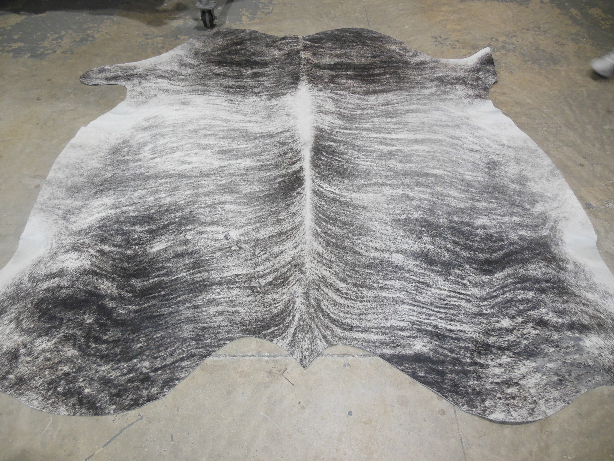 Gray Cowhide Rug