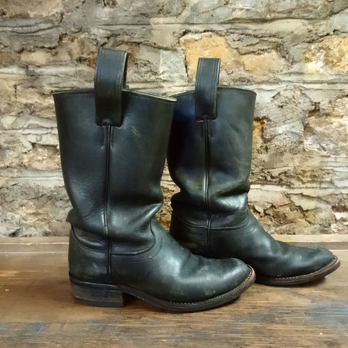 Size 10 Men's Olathe Boot Co. Black Boots