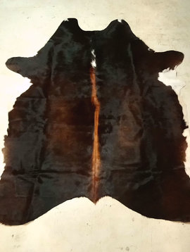 Dark Brown Cowhide Rug CUSTOM ORDER