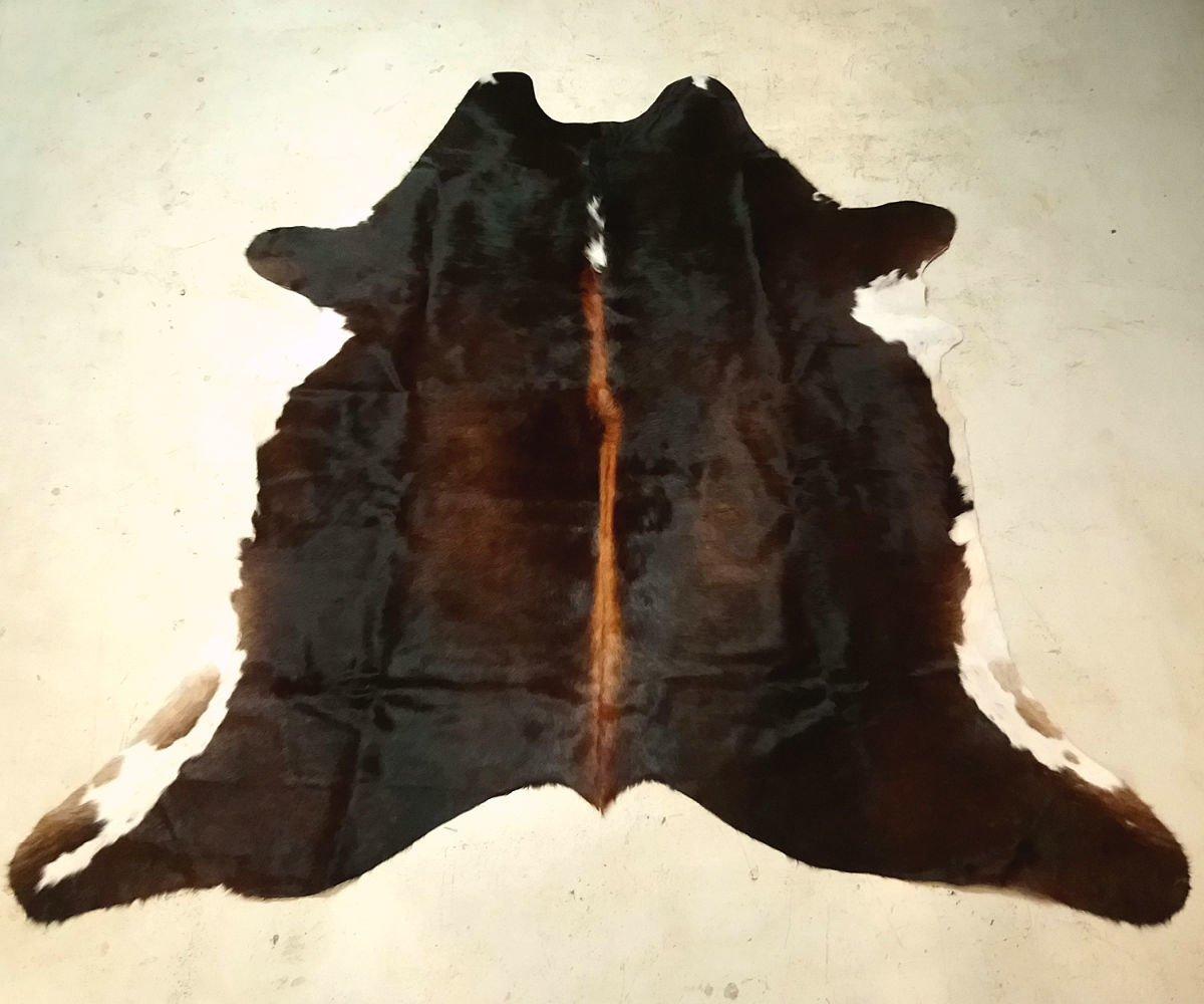 Dark Brown Cowhide Rug Special Order