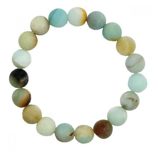 Amazonite Stone Stretch Bracelet