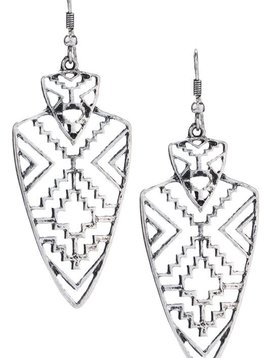 Tribal Arrowhead Earring