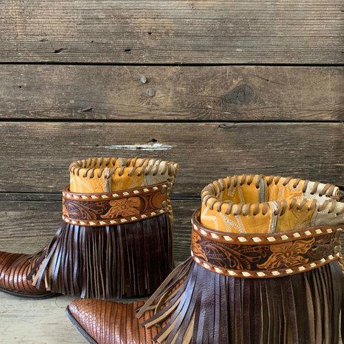 Ritzy Gypsy size 9 Custom Tony Lama Short Boot