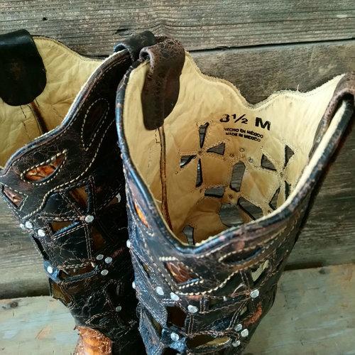 Corral Python size 8.5 Cowboy Boot