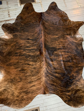 Black + Brindle Cowhide 2556