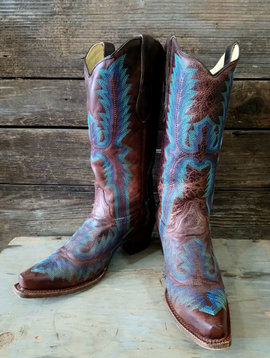 Corral Size 8.5 Cowboy Boot Style A2902