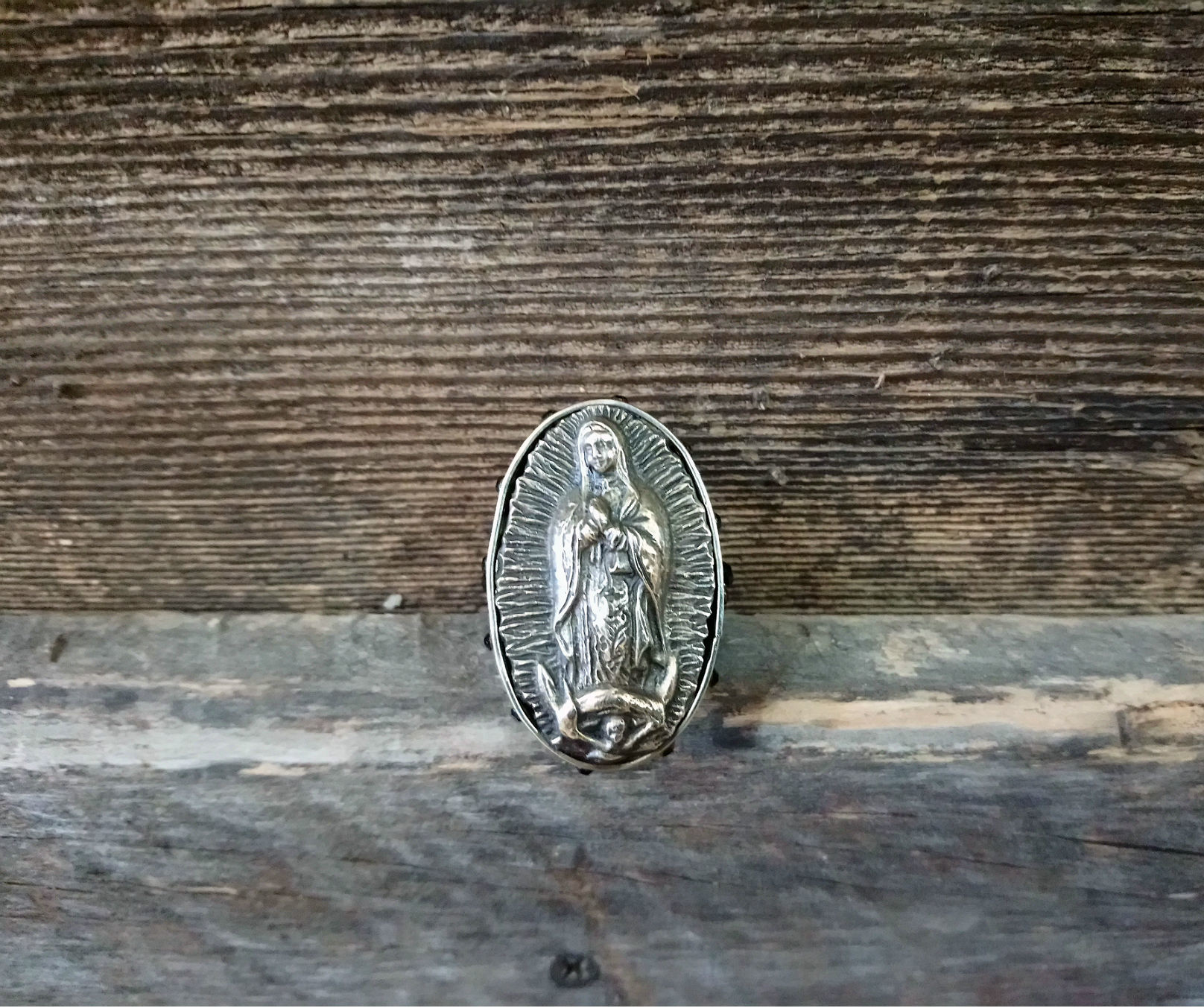 Our Lady of Guadalupe Ring
