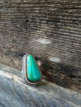Kingman Turquoise Ring size 7