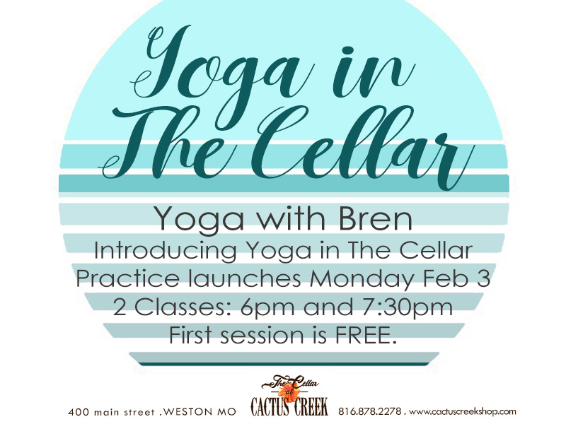 Yoga in The Cellar