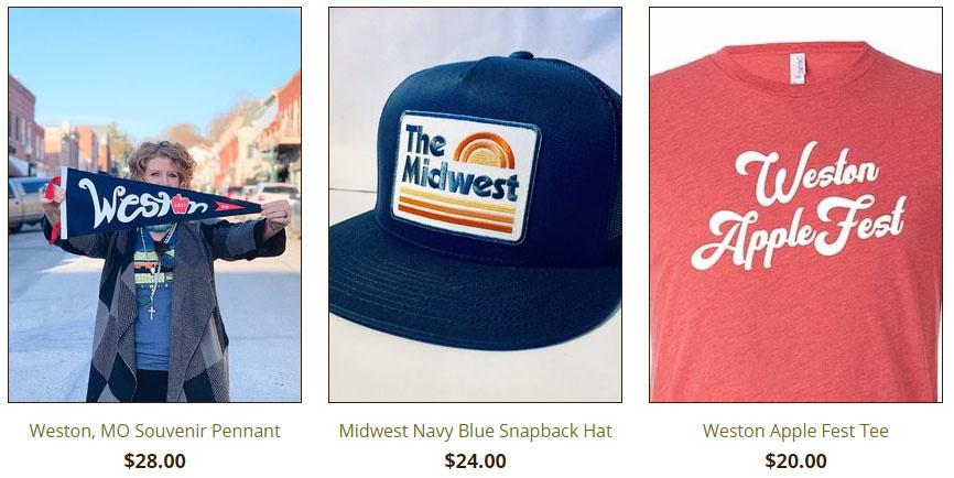 Weston MO Souvenirs available at Cactus Creek