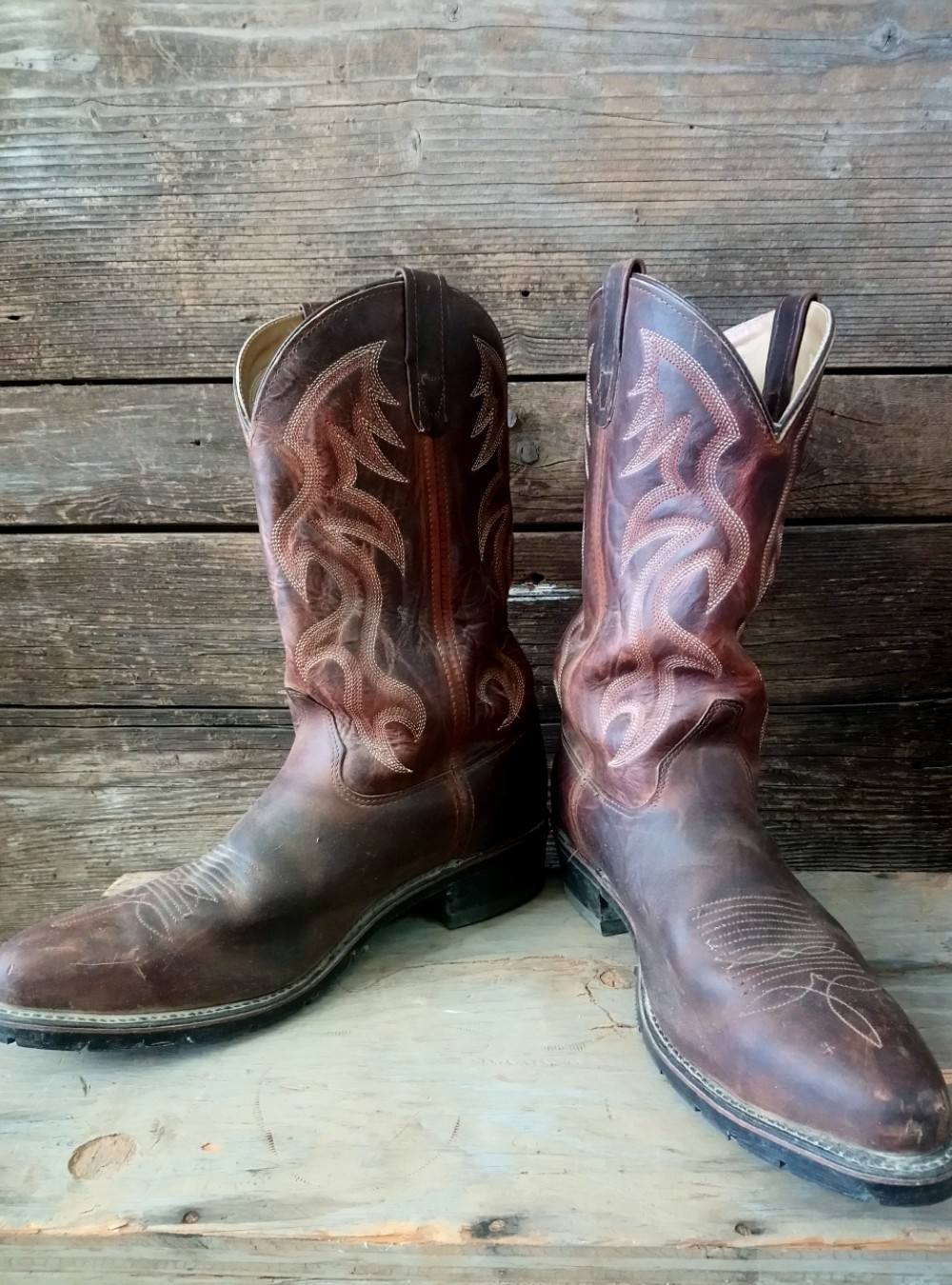 Double H Steel Toe Cowboy Boot size 11