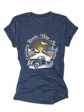 Country Roads Take Me Home Tee