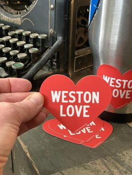 Cactus Creek Weston Love Sticker