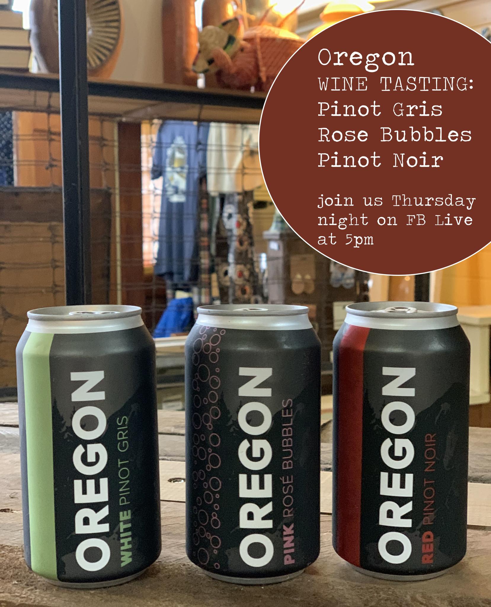 Wine Tasting with Oregon Wine