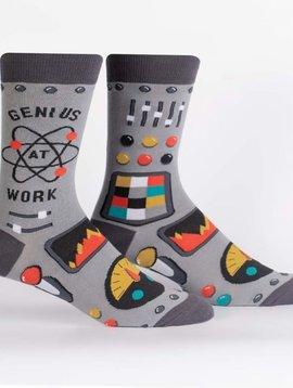 Genius at Work Crew Socks