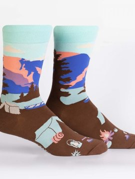 Glacier National Park Crew Socks